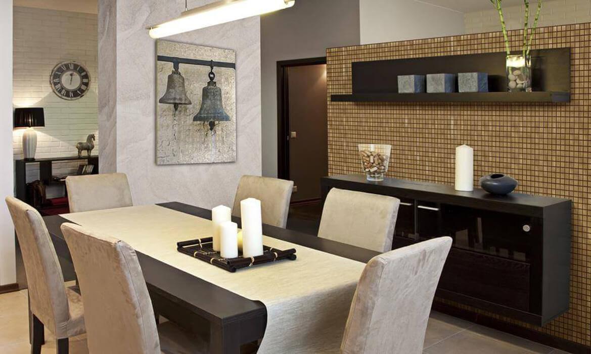 Dining Room Design — Elegant Collection — Ash Select Natural 8×8