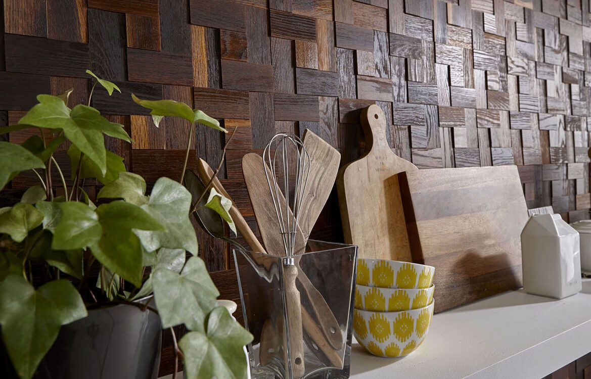 Kitchen Close-up – 3D Collection – Enfasi Oak Thermo Brushed
