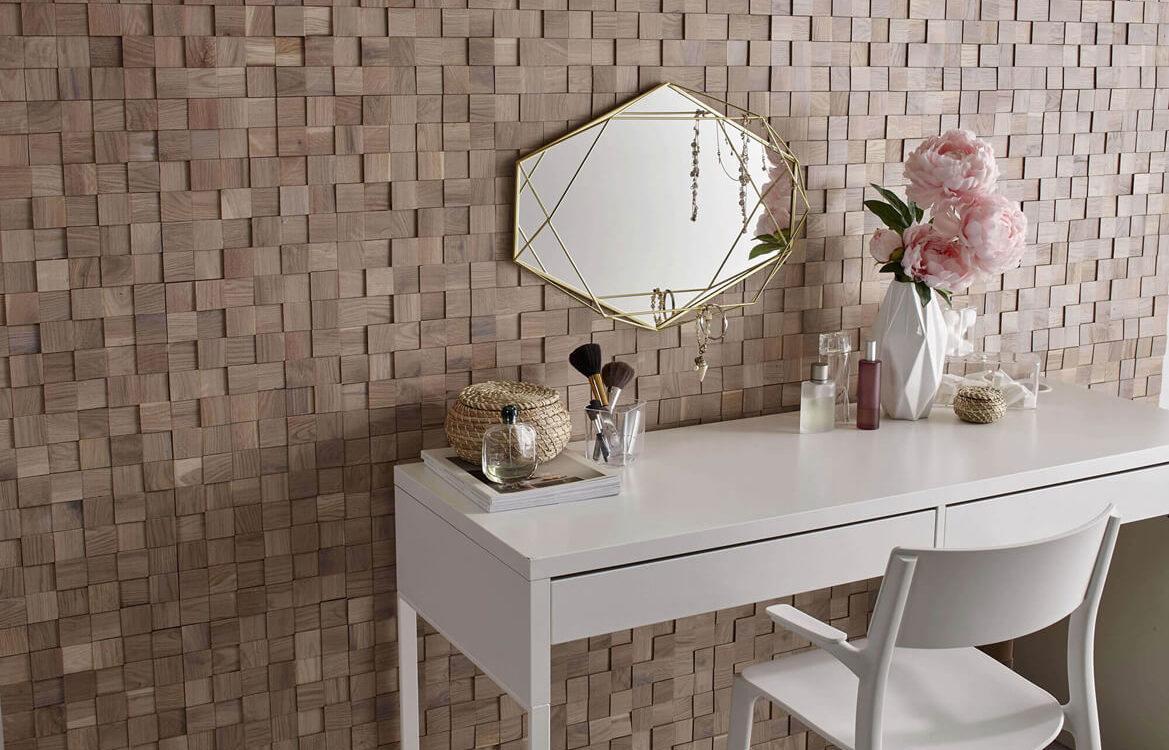 Make-up Corner — 3D Collection — Tessera Oak White
