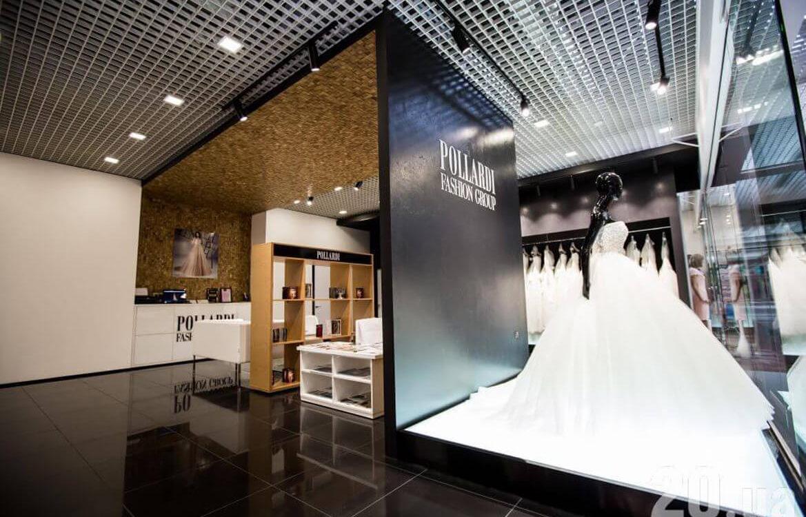 Pollardi Wedding Dresses — 3D Collection — Tessera Oak Natural